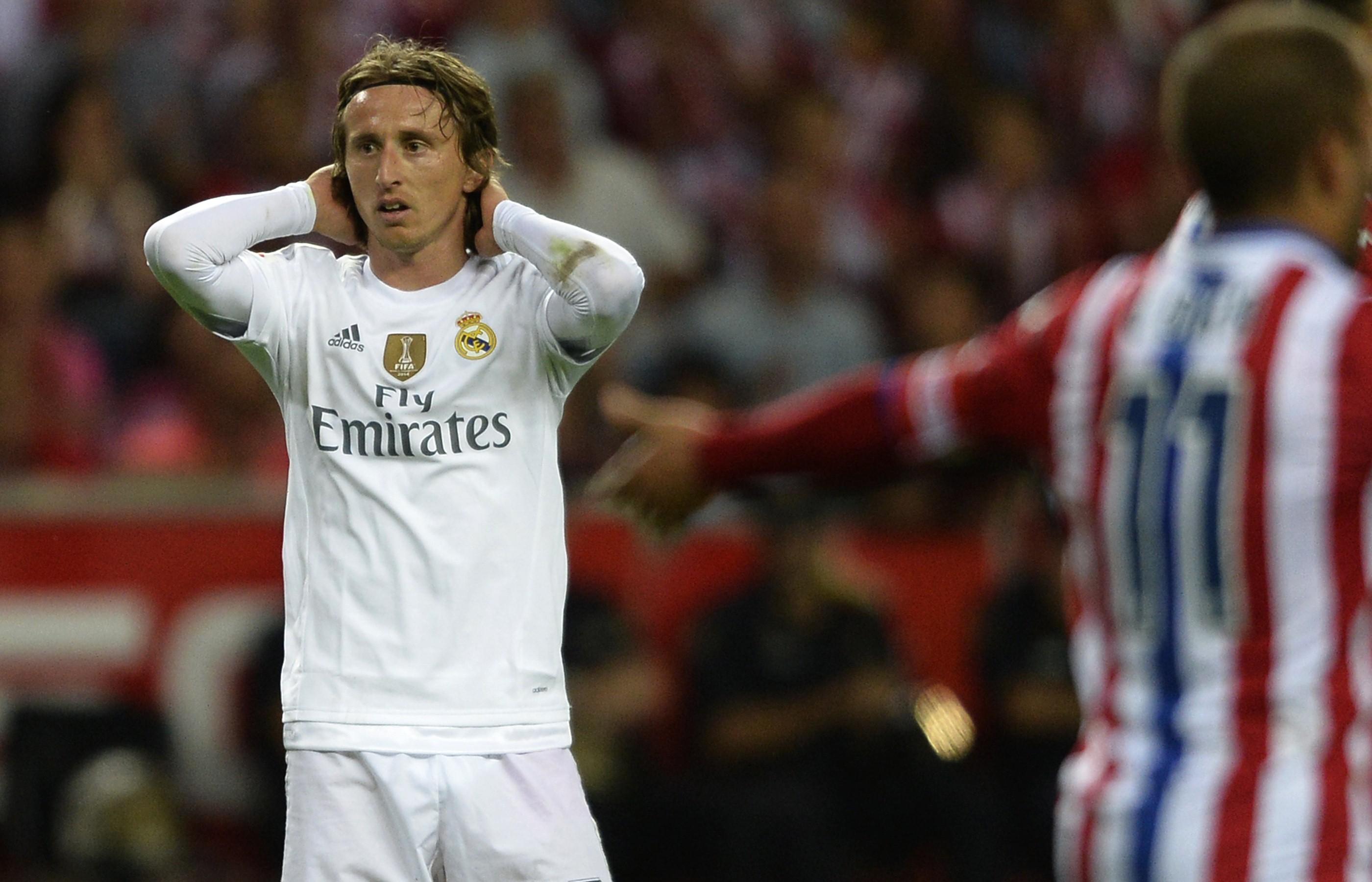 Luka Modric und Real Madrid blieben gegen Gijon torlos