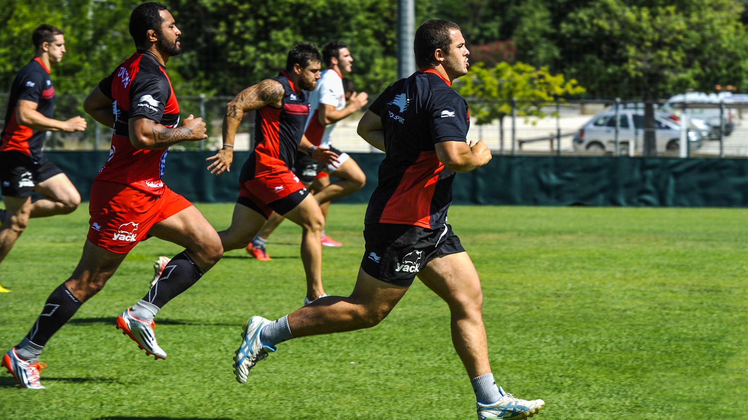Anthony Etrillard (Toulon) à l'entrainement - 9 juillet 2015
