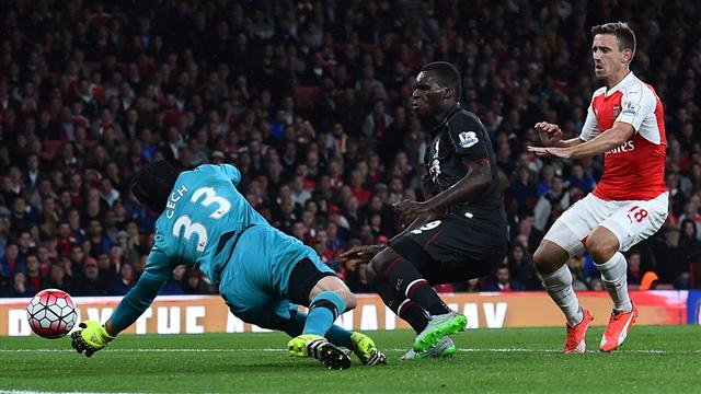 Arsenal et Liverpool se partagent les points, Cech et Mignolet n'y sont pas pour rien