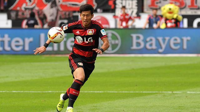Heung-Min Son wechselte 2013 zu Bayer Leverkusen
