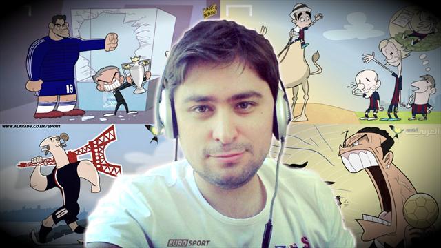 Омар Момани: «Роналду рисовать сложнее, чем Месси»