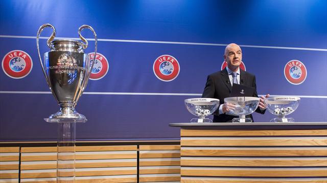 Sorteo Champion League Gallery: Sorteo Champions League En Directo (señal De TV