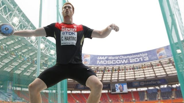 Германец Хартинг стал олимпийским чемпионом вметании диска