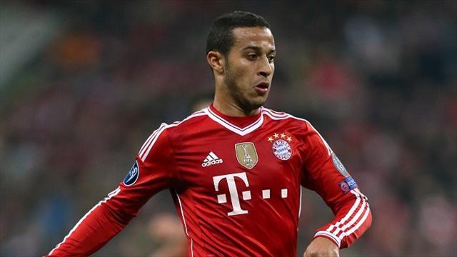 Thiago Alcantara has signed a new Bayern Munich contract