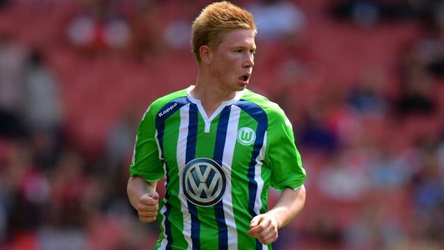 Wolfsburg's Kevin De Bruyne