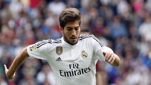 Lucas Silva avec le Real Madrid en 2015