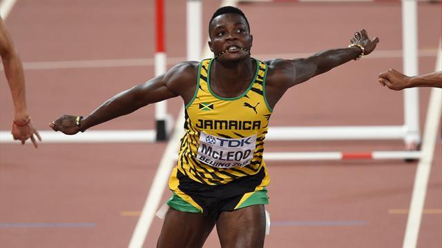 Вотсутствии Шубенкова олимпийским чемпионом вбарьерном спринте стал ямаец Маклеод