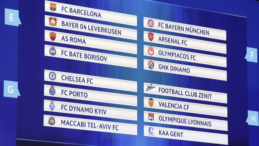 Champions League Der Fc Bayern München Trifft In Der Gruppenphase