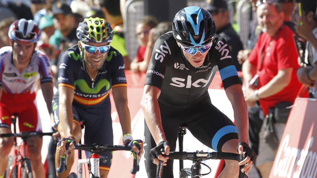 b9d892c6477 Vuelta   Petite défaillance pour Chris Froome