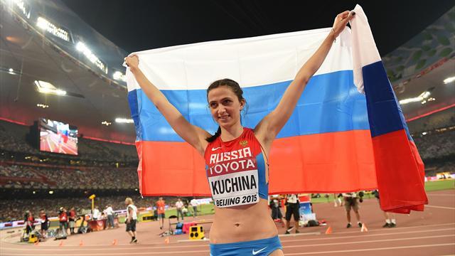 Les champions du monde russes Shubenkov et Kuchina autorisés à concourir sous drapeau neutre