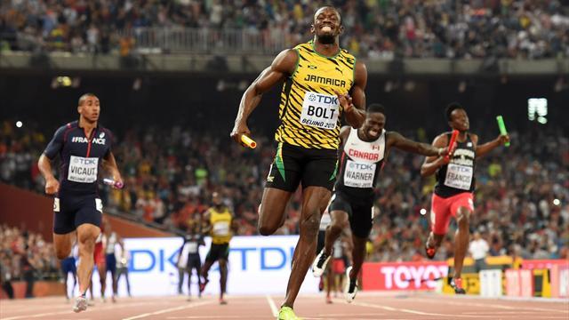 Le triomphe est total pour Bolt et la Jamaïque, la France se rate