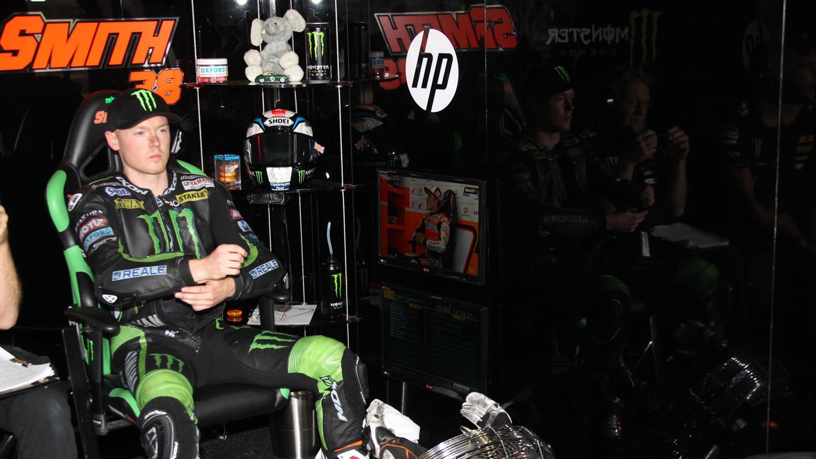 Bradley Smith (Yamaha Tech 3) au Grand Prix de République tchèque 2015