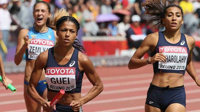 Le programme de dimanche : Pour décrocher une 3e médaille, la France ne mise plus que sur ses 4x400m
