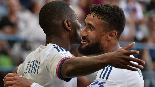 Nabil Fekir's hat-trick helps Lyon to win 4-0 at Caen