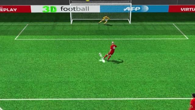 Rigore anche per Robben, l'olandese trasforma