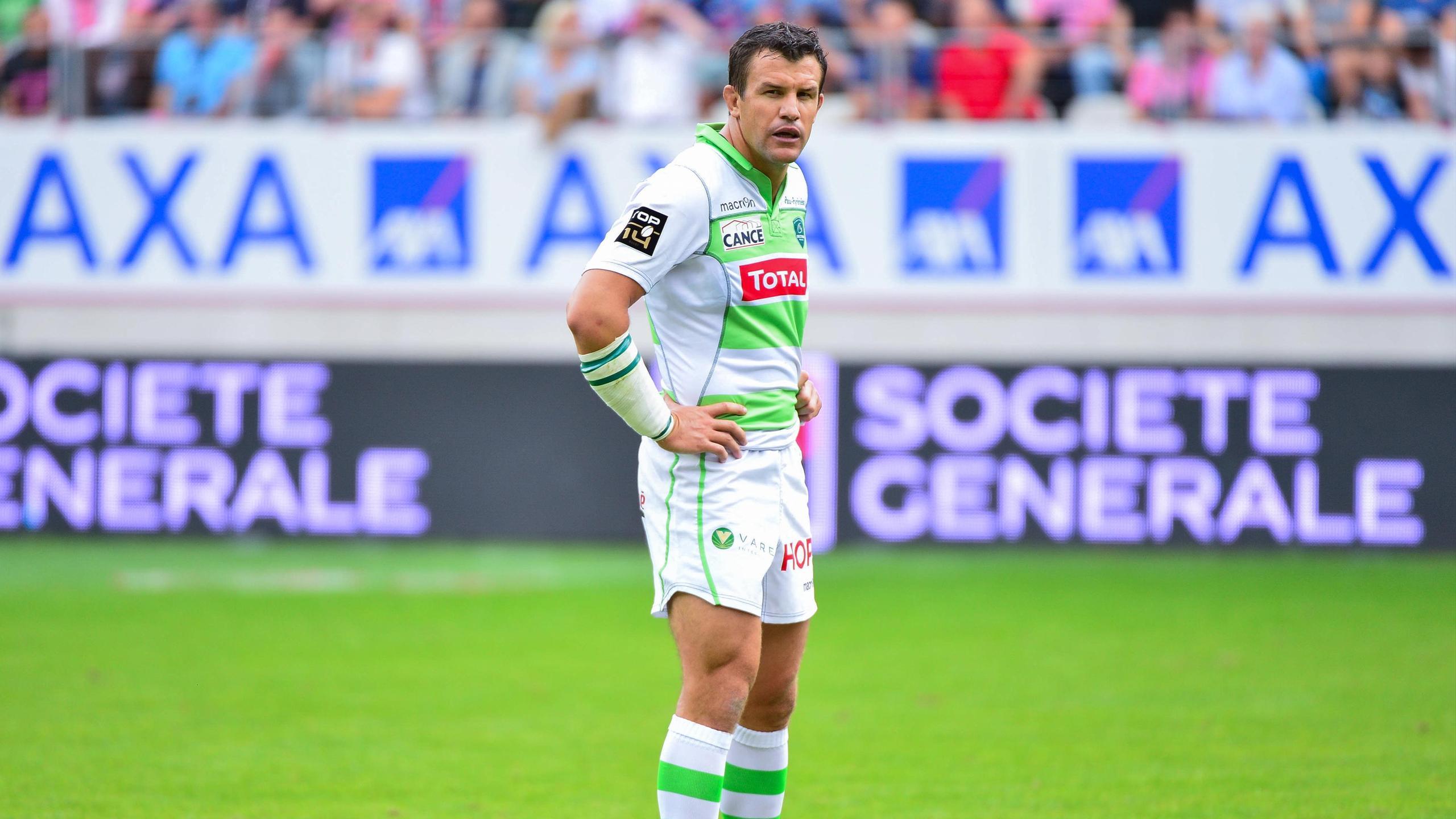 Damien Traille, arrière de Pau