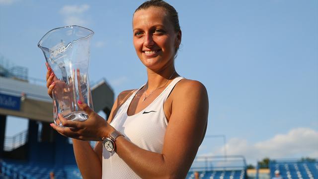 Sacrée pour la troisième fois, Kvitova retrouve des couleurs