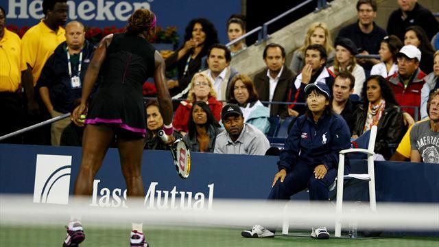 Le jour où... Serena a terrorisé une juge de ligne