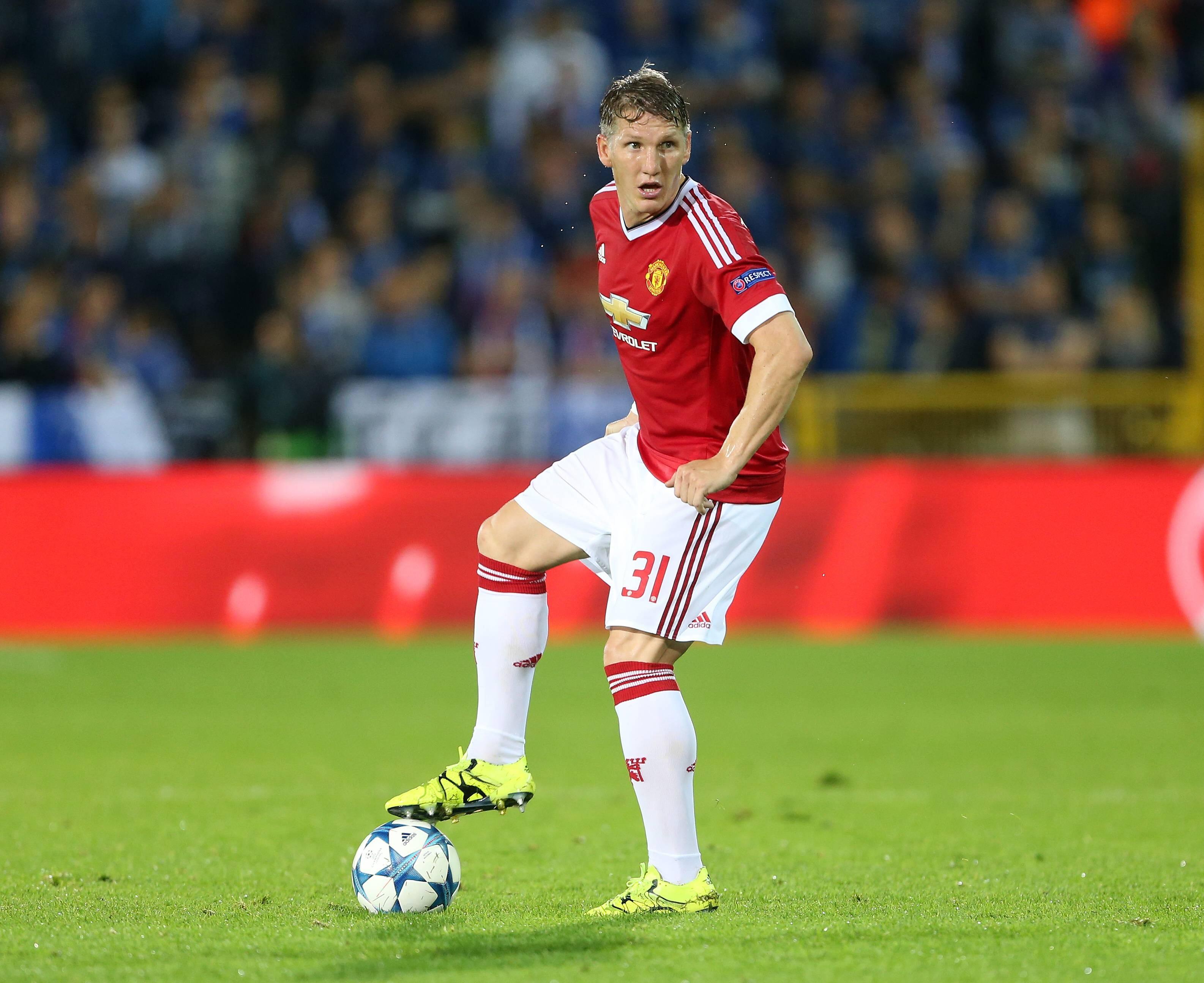 Бастиан Швайнштайгер («Манчестер Юнайтед»)
