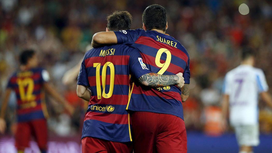 Messi e Suárez  uma brilhante sacada para promover a Copa do Mundo de 2030 4c00f37f9652f