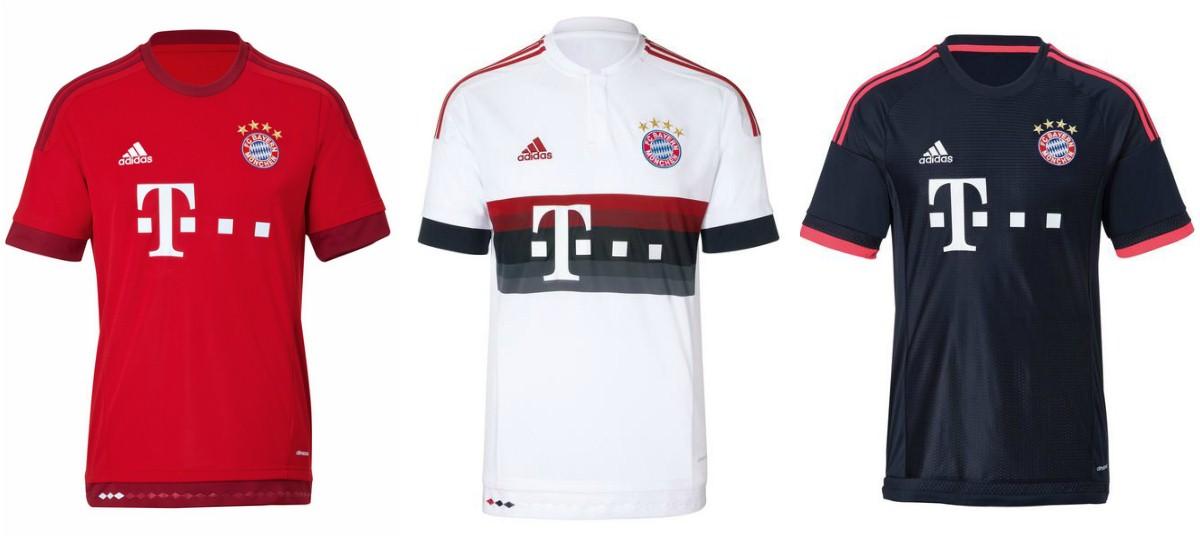 Форма «Баварии» на сезон-2015/16