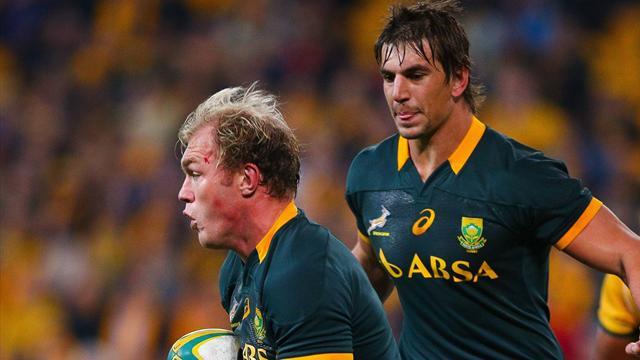 Sudáfrica-Estados Unidos: Los Springbok no tuvieron piedad (64-0)