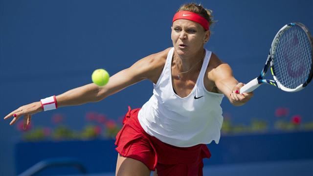 L'US Open EN DIRECT: Safarova d�j� dehors, Simon et PHM en piste
