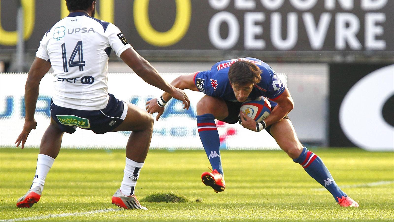 Armand Batlle (Grenoble) face à Agen - Août 2015