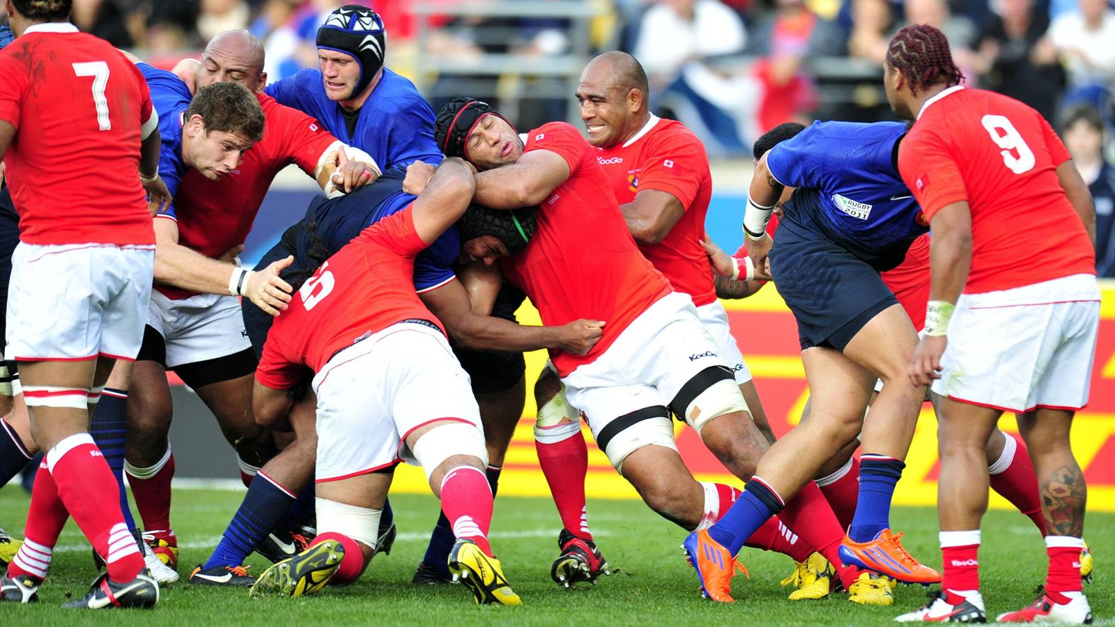 France-Tonga - 1 octobre 2011