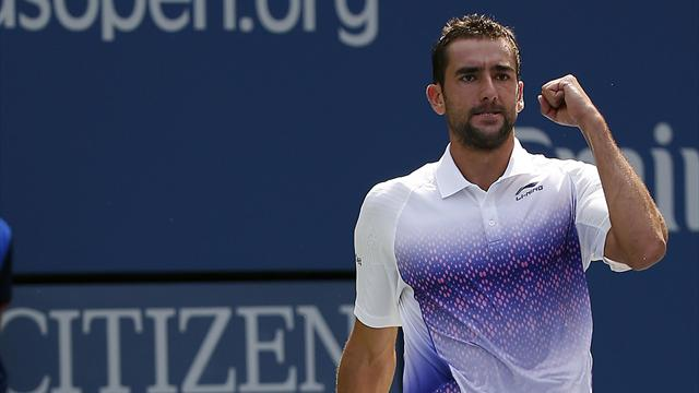 Cilic easily beats Donskoy, Fish bows out