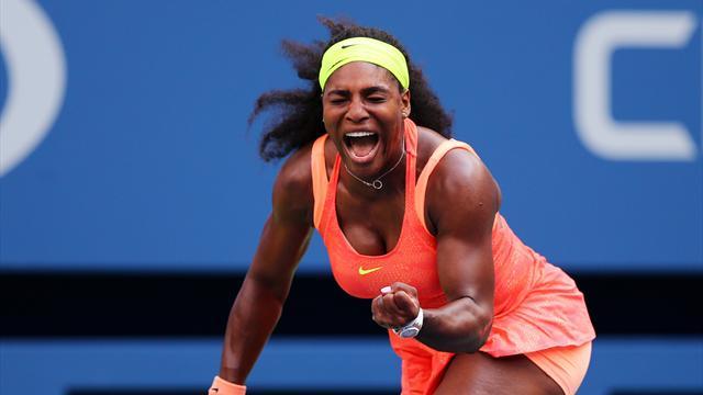De la souffrance du premier set à la délivrance du second, Serena est passée par tous les états