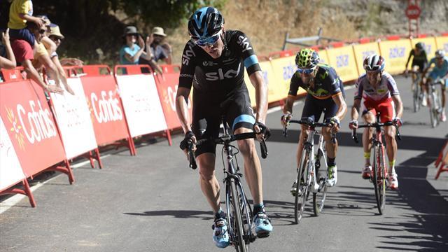 Бельгиец Кейкелейре одержал победу 12-й этап «Вуэльты»