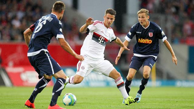 FC Bayern verliert bei Viertligist Jahn Regensburg