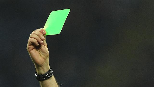 В Серии В введут зеленые карточки