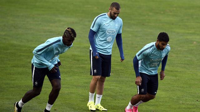 Vers un 4-4-2 en losange, avec Pogba derrière Fekir et Benzema