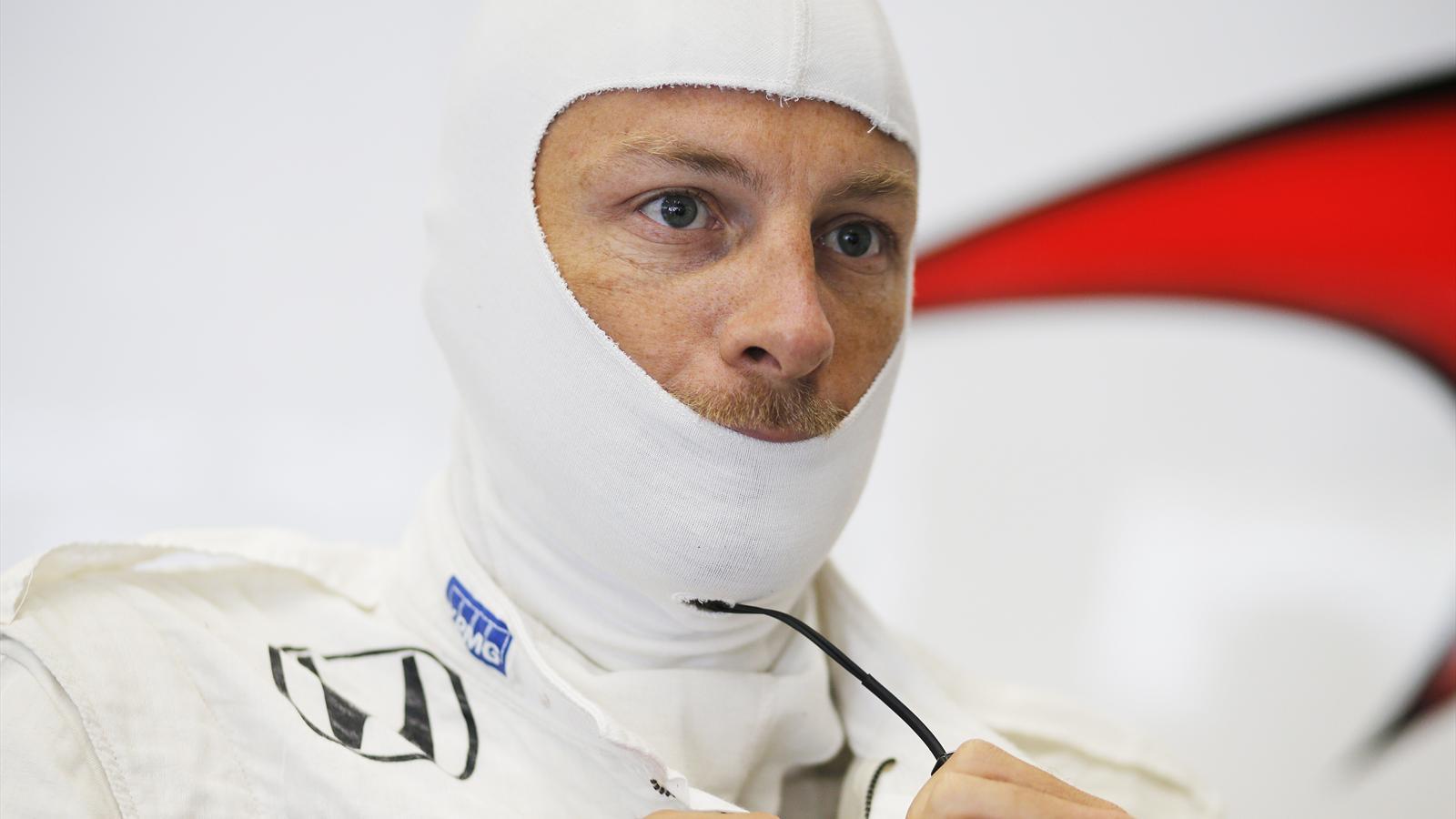 Jenson Button (McLaren) - GP of Belgium 2015