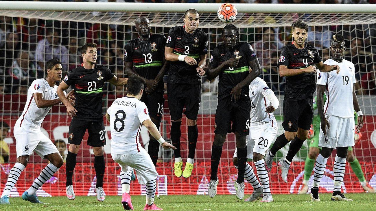 Portugal - France (0-1) : Heureusement pour les Bleus, Valbuena passait par là