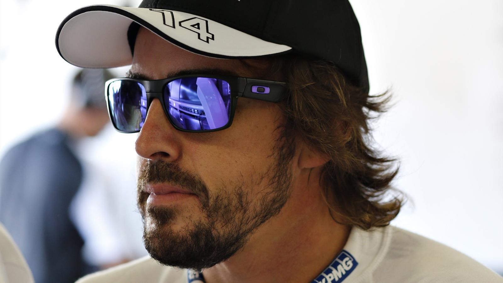 Fernando Alonso (McLaren) au Grand Prix d'Italie 2015