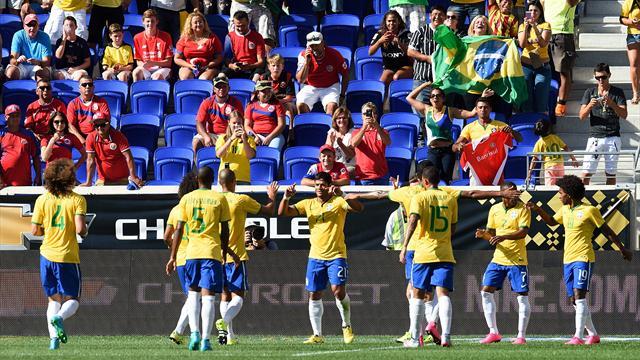 Hulk rassure un peu le Brésil
