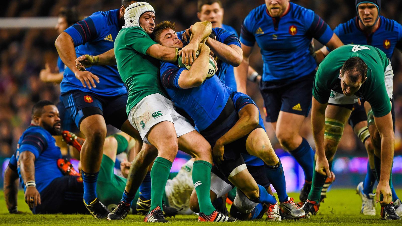 Coupe du monde 2015 vers un bras de fer franco irlandais - Poules de la coupe du monde de rugby 2015 ...