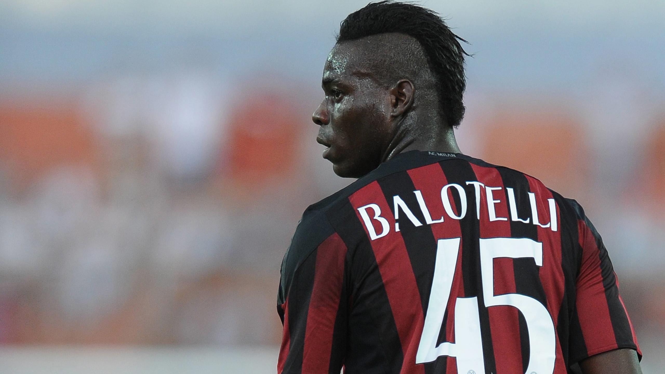 Mario Balotelli of AC Milan