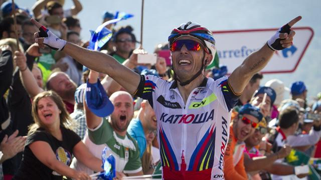 Joaquim Rodriguez forfait au Tour de Lombardie