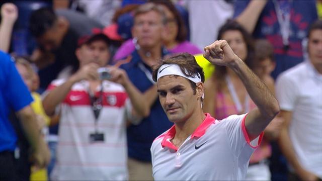 Patience et opportunisme, ou comment Federer a dompté le service d'Isner