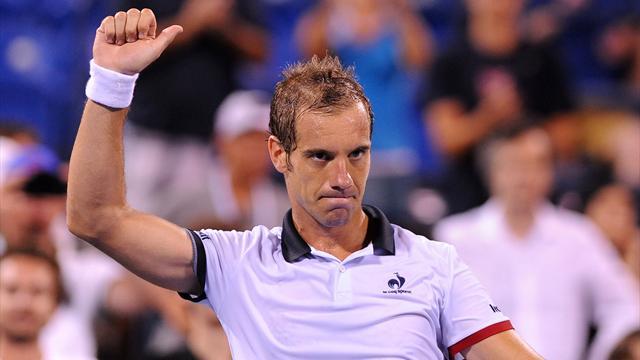 Gasquet gobe Berdych et fonce sur Federer