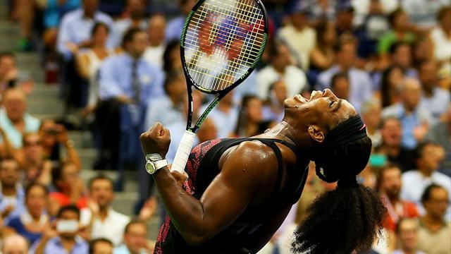 Serena Williams écarte sa soeur Venus et poursuit sa quête de Grand Chelem