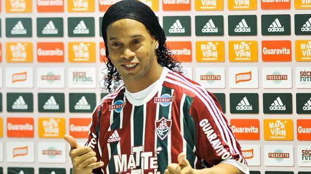 Ronaldinho et Fluminense, c'est déjà fini