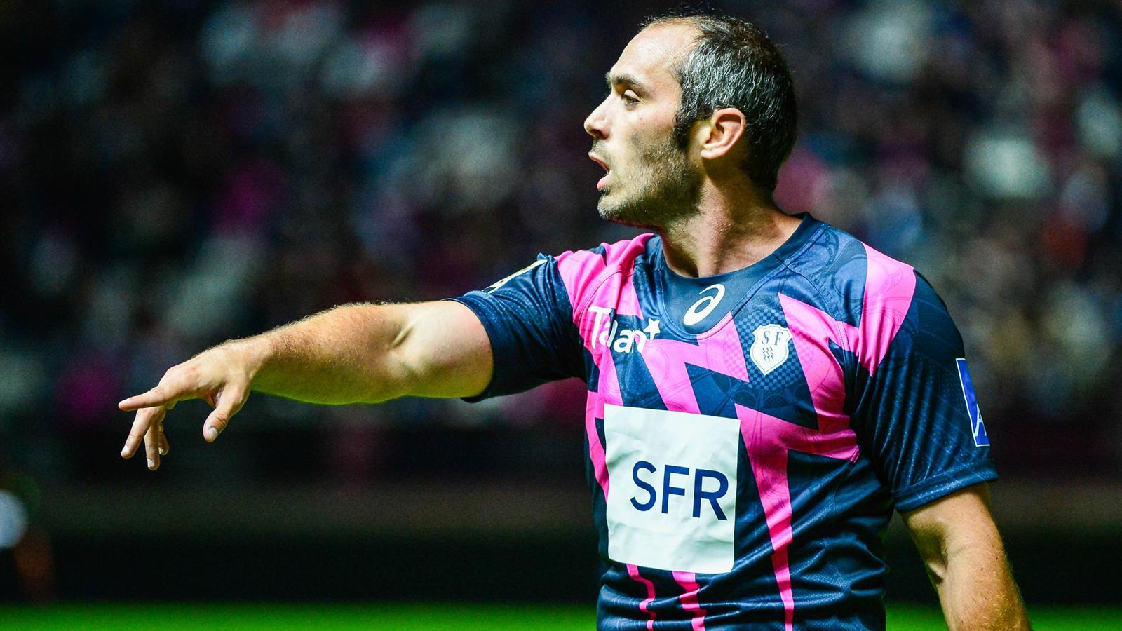 Julien Dupuy (Stade français) face à Toulon - le 6 septembre 2015
