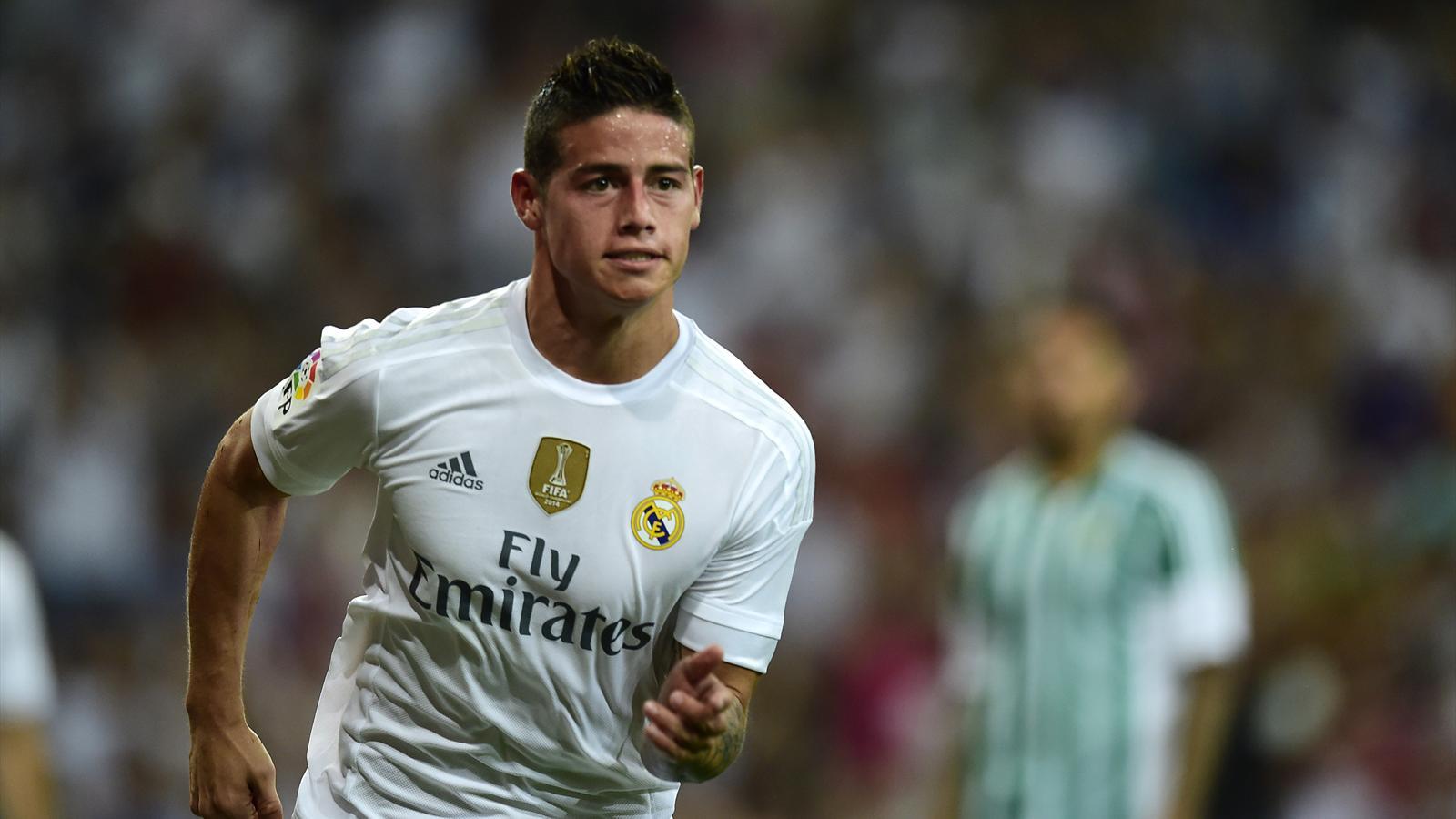 Real Madrid muss auf James Rodriguez verzichten