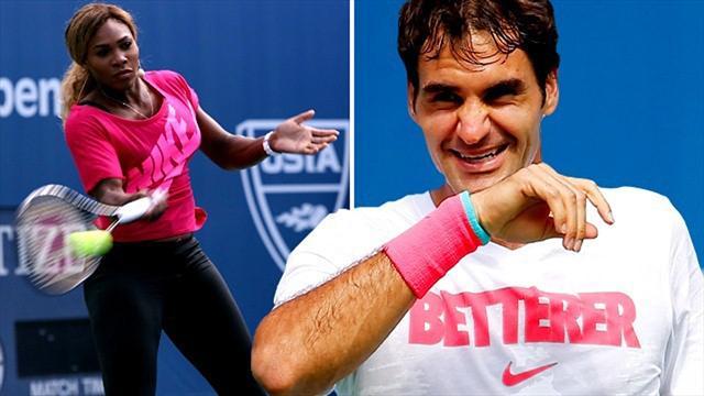 Duell in Fernost: Federers Aces oder Serenas Slammers?