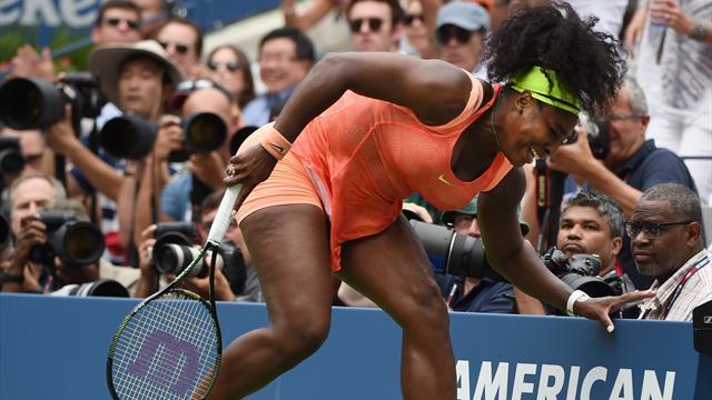 Le point où la demi-finale a glissé entre les doigts de Serena Williams
